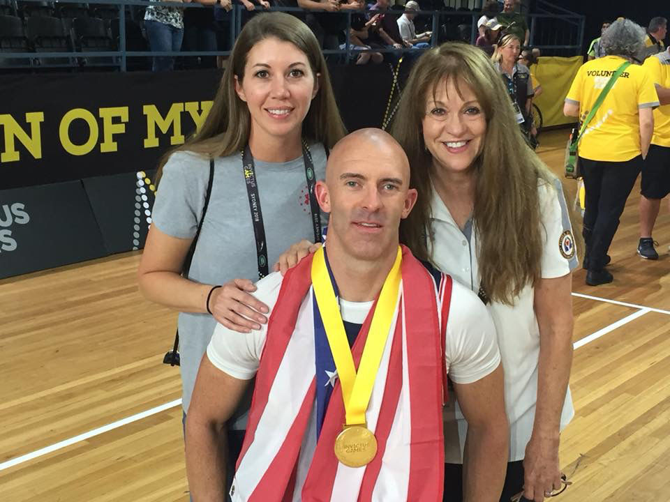 Injured USAF Tech Sgt. From Fairfield, Montana Wins Eight Medals at Invictus Games, Receives Personal Congratulations from Britain's Prince Harry