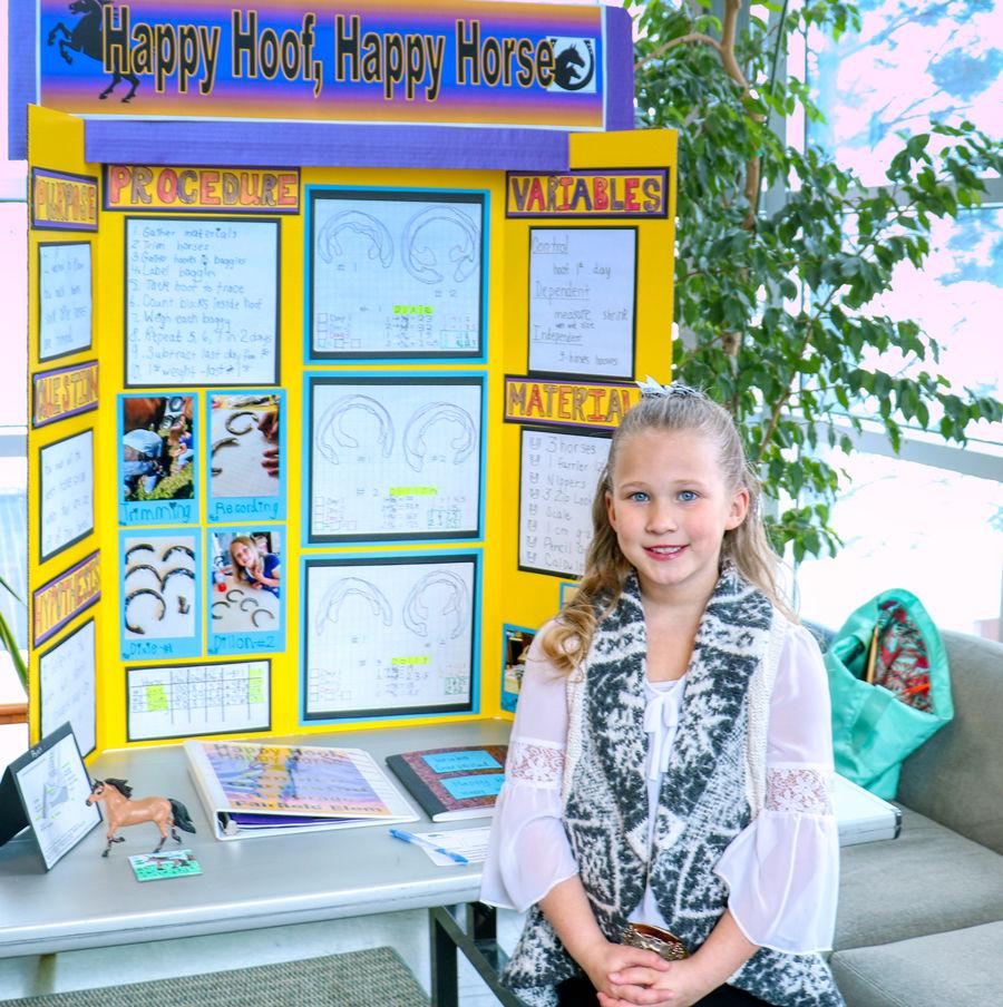 Simms, Sunburst Students Take Top Honors At Science Fair