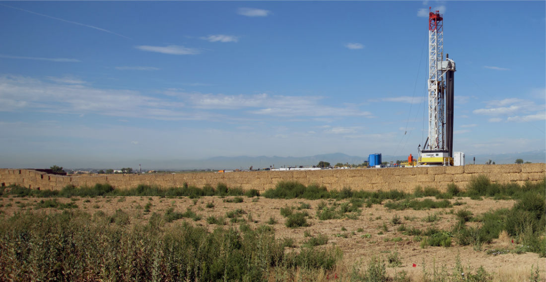 Kerr-McGee Oil & Gas Onshore, LP Barefoot 33C-25 HZ Gas Well in Weld County, Colorado