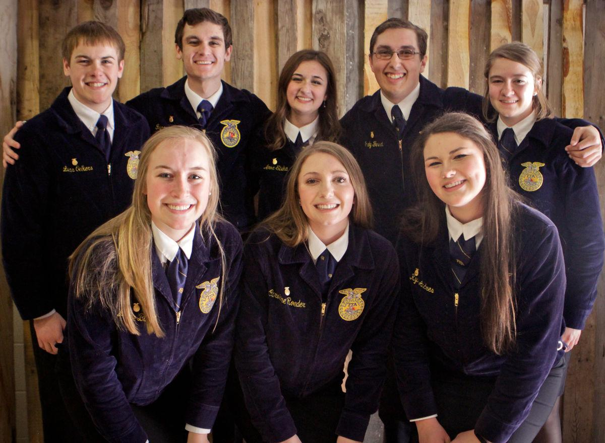New state officers for the 2019-2020 school year