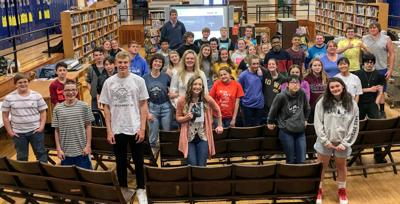 Augusta Grad Visits School To Talk About Writing