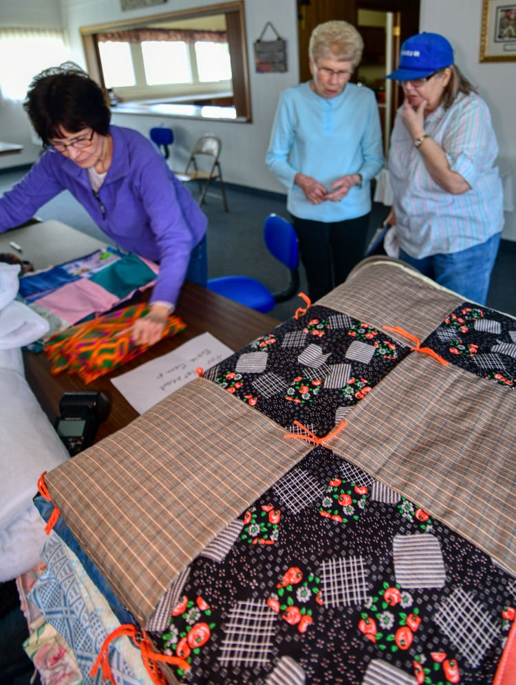 Grace and St. Paul Lutheran Ladies Share Love One Quilt At A Time
