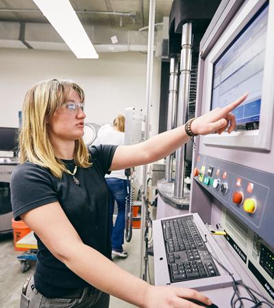Civil Engineering Undergraduate Researching Hempcrete
