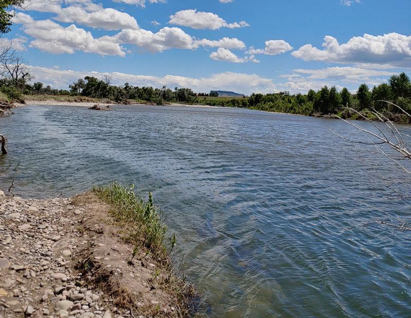 The Sun River at Lowery Bridge