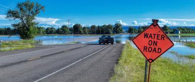 Highway 200 in Cascade County, Montana