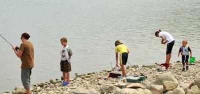2009 McKids Fishing Derby  - Sun Times photo