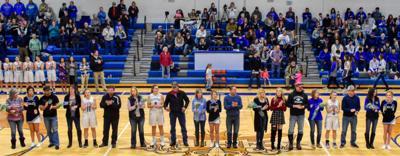 Fairfield Senior Night - Lady Eagles Basketball