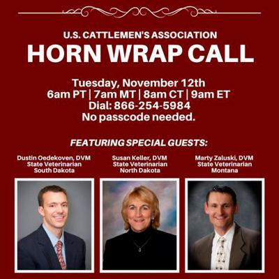 USCA November Horn Wrap Call