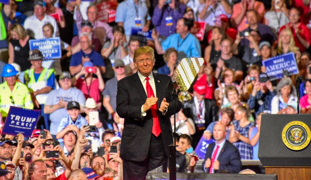 President Trump in Great Falls, Montana