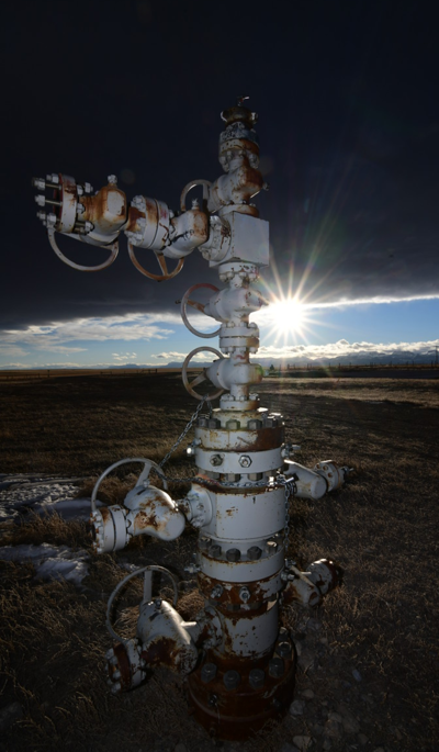 Teton County, Montana Oil Well