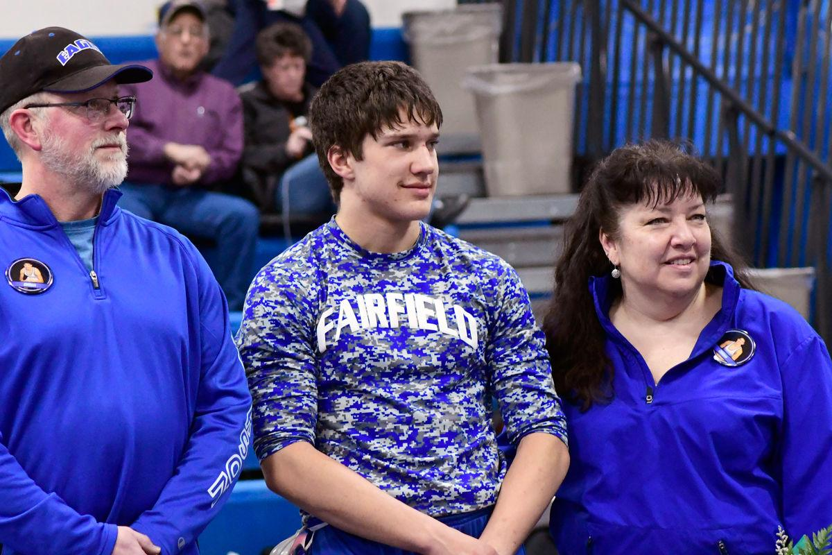 A Shout-Out to our Wrestling Senior!