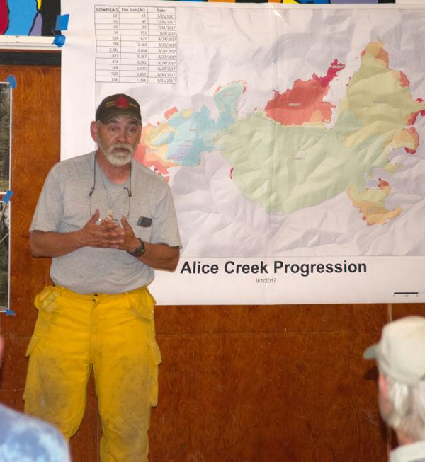 Wolf Creek - Craig Volunteer Fire Chief Rocky Infanger