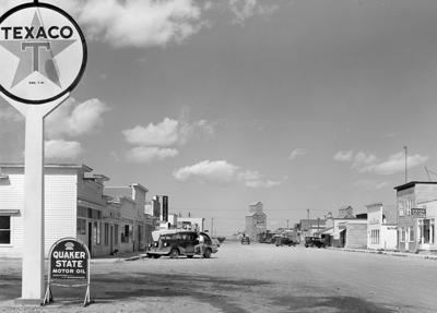 Fairfield, Montana Main Street, May 1939