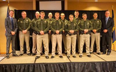Montana Highway Patrol Commissions Nine New Troopers