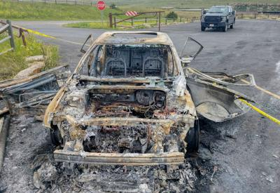 FWP Seeks Info on Car Burned at Giant Spring State Park