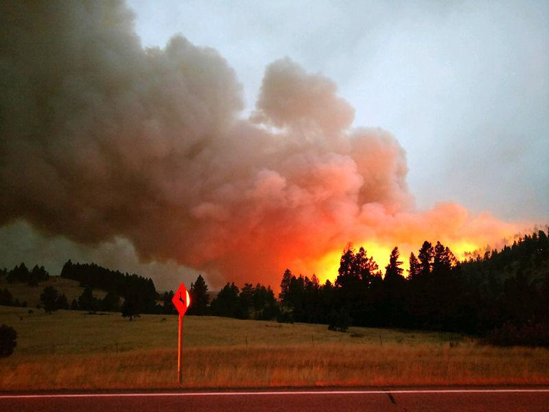 MONTANA BURNING: Over 1,054,381 Acres Burned... So Far
