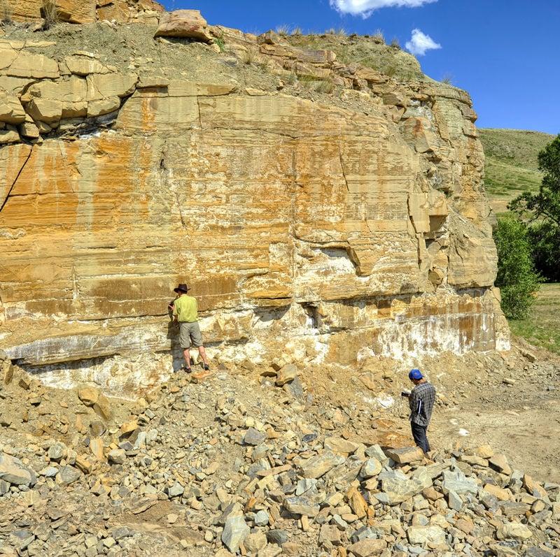 Checking the Rocks