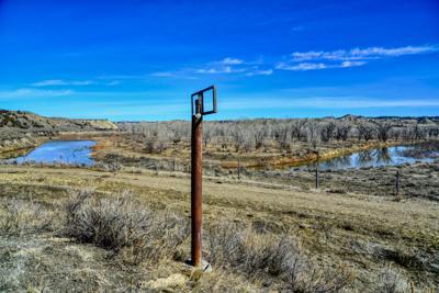 Old Cat Creek Oil Field Well