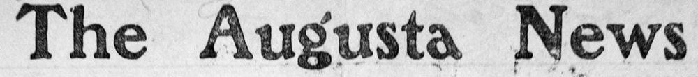The Augusta News Logo