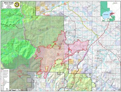 ALICE CREEK FIRE MAP 9/9