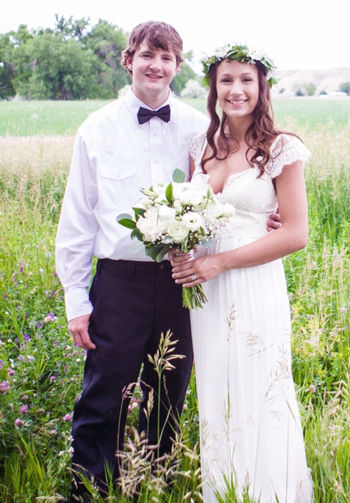 Congratulations, Beau and Holli