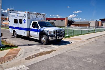 Fairfield Teton County Ambulance at Benefis in Great Falls