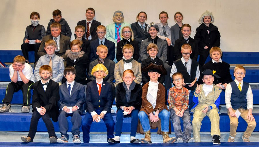 Augusta Students Present Presidents At Wax Museum