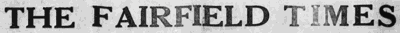 The Fairfield Times
