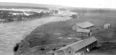Sun River Flooding in 1917