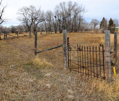Poor Farm Cemetery in Choteau, Montana
