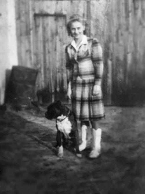 "Edeltraud ""Trudy"" Kietzman (younger photo)"