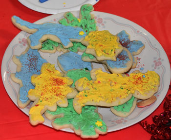 Dinosaurs And Sugar Cookies!