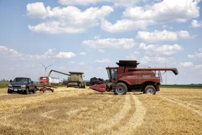 Pop-up storm activity ramps up; wheat harvest winds down
