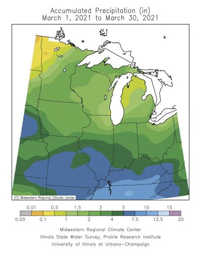 April weather outlook bodes well for start of planting season