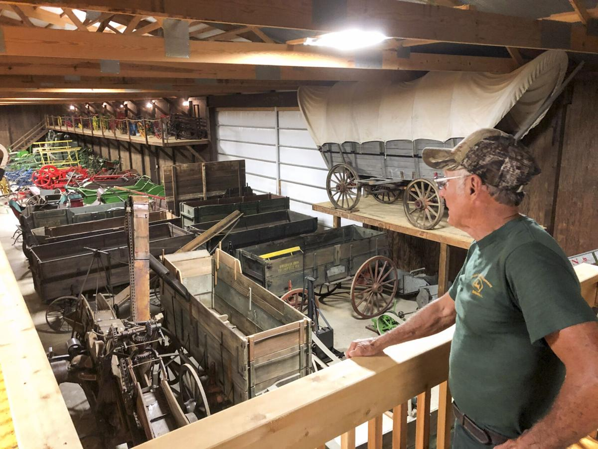 Tractor, antique collector 'living the dream' in farm museum