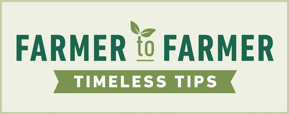 "Richland County Farm Bureau president: ""Keep working on your goal"""