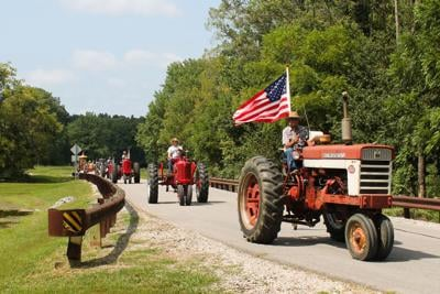 Tractor drive attracts 39 participants
