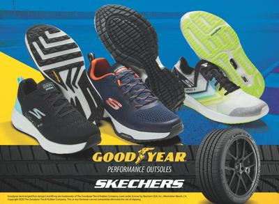 Skechers incorporates soy into its shoes