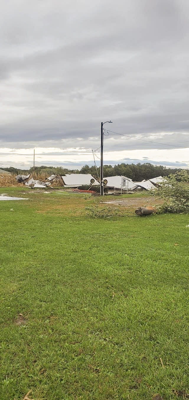 Parts of Illinois rattled with severe weather Monday