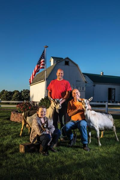 At Friendly Franseen Acres, a shift to goats pays off