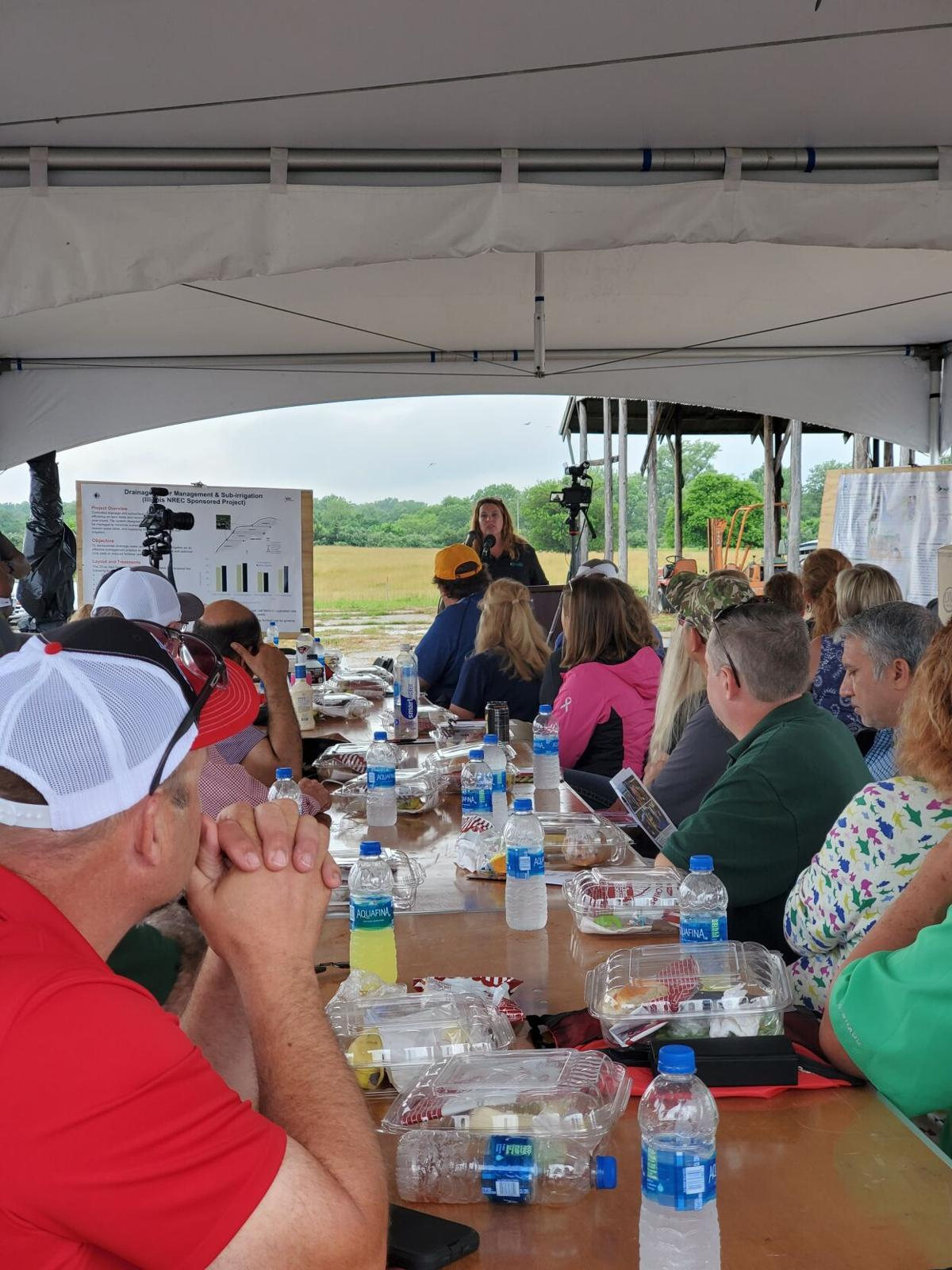Farmers get rainy glimpse of nutrient stewardship at work