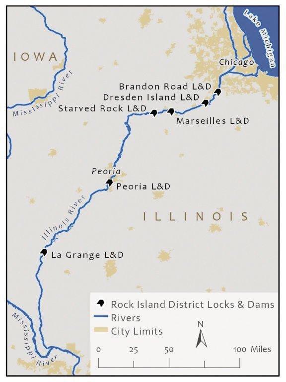 Corps set to begin Illinois River lock, dam work July 1