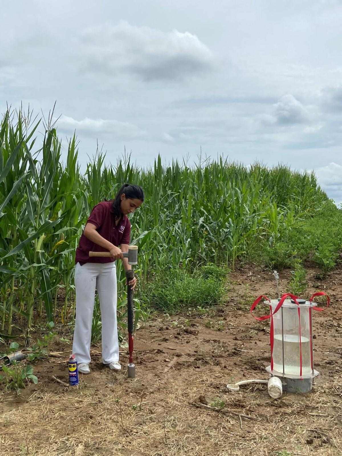 Researchers hope to quantify gypsum's benefits for soil, water