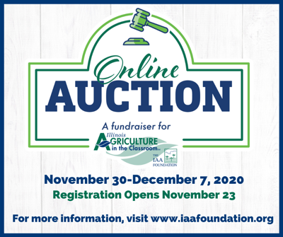 Illinois Ag in the Classroom online auction underway