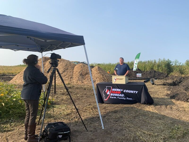 Woodchip bioreactor source of pride for conservation-minded farm family