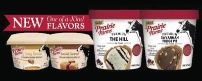 Prairie Farms introduces personal sizes of ice cream, cream cheese