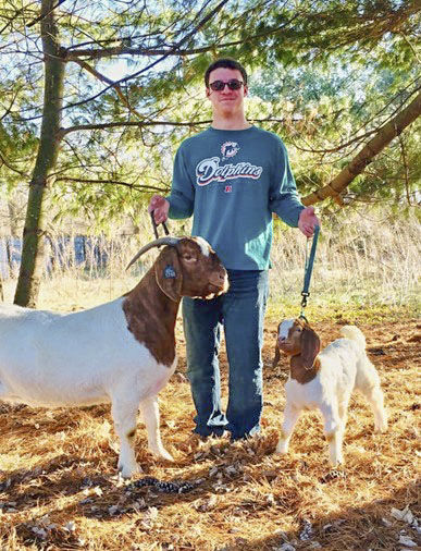 Young adult's life positively impacted by livestock