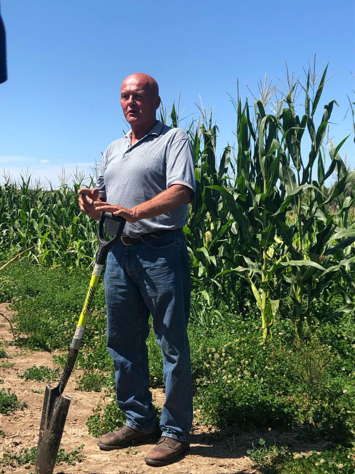 Rainfall simulator, cover crop trials offer soil health takeaways