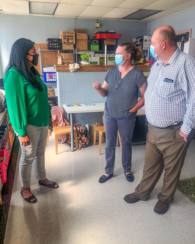 New adopted legislator hosts Edwards County FB for visit