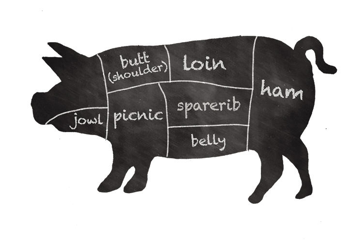 Going whole hog and cow